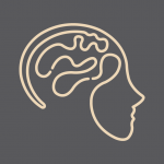 Good Vibrations Neurofeedback Icon on Grey Background