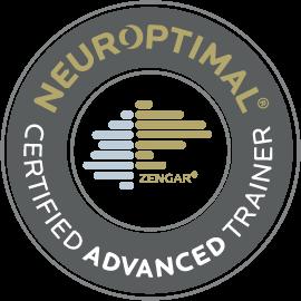 Zengar NeurOptimal Certified Advanced Neurofeedback Trainer Badge